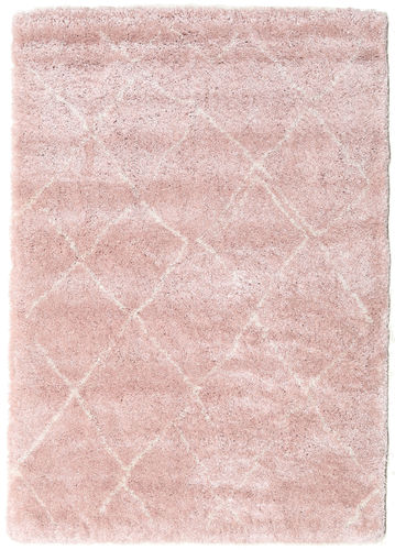 Shaggy Agadir - Soft Rose / Off-White carpet CVD19576