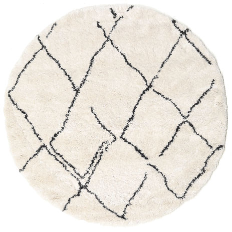 Shaggy Agadir - Off-White / Dark Grey rug CVD19370