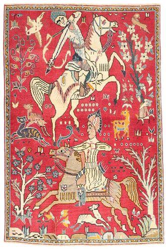 Alfombra Tabriz Patina AXVZZZF1068