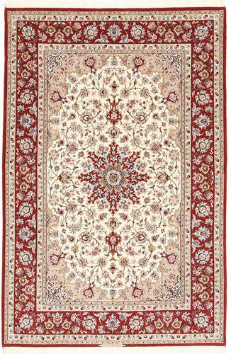 Isfahan silkerenning teppe AXVZZZL321