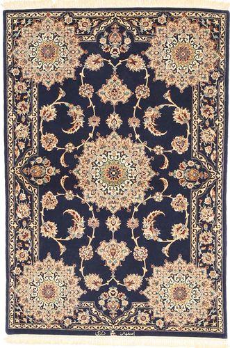 Isfahan silk warp signed: Dorry carpet AXVZZZL317