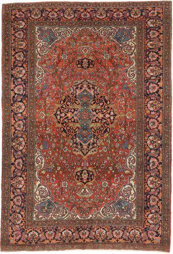 Isfahan zijden pool tapijt AXVZZZL318
