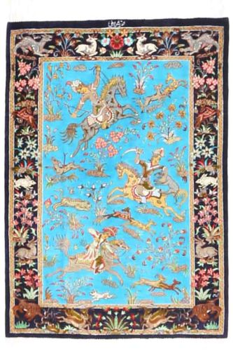 Qum silk carpet AXVZZZL133