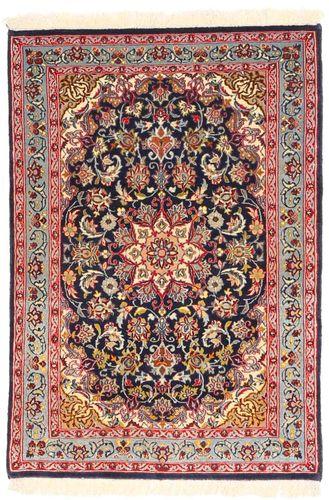 Tappeto Isfahan ordito in seta AXVZZZL302
