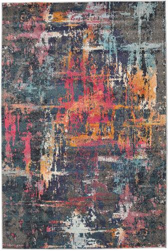 Castor - Multi / Cerise rug RVD19819