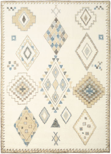 Berber Indo - Off-White / Beige carpet CVD17658