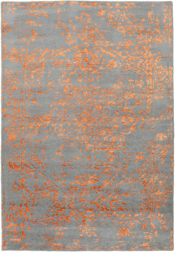Antique Persian - Grey / Orange carpet CVD18917