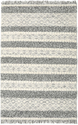 Tappeto Kilim Berber Ibiza - Nero and Bianco Mix CVD19395