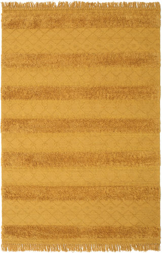 Kilim Berber Ibiza - Mustard Yellow carpet CVD19404