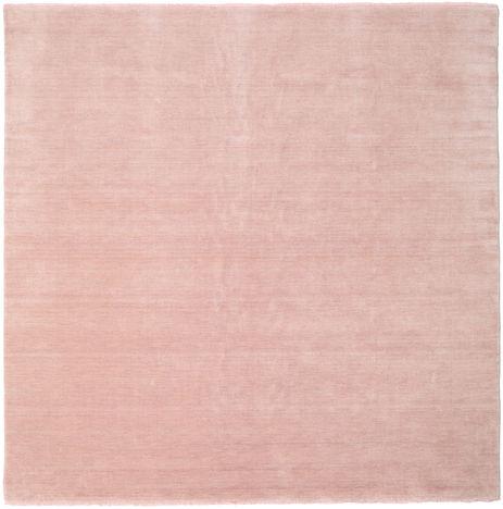 Handloom fringes - Soft Rose carpet CVD19152