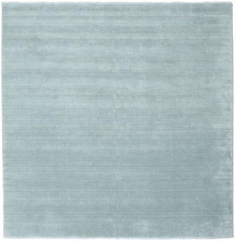 Handloom fringes - Ice Blue rug CVD19117