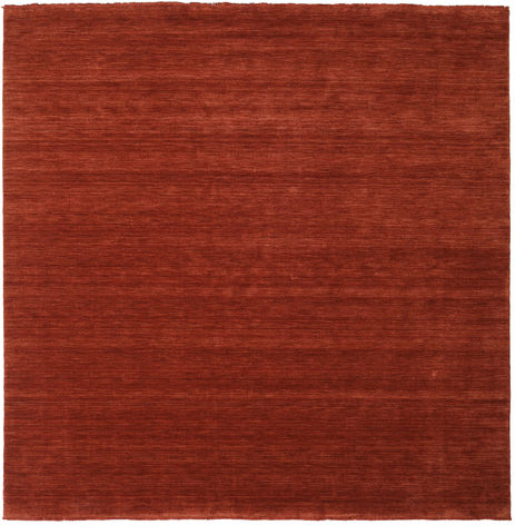 Handloom fringes - Deep_Rust carpet CVD19113