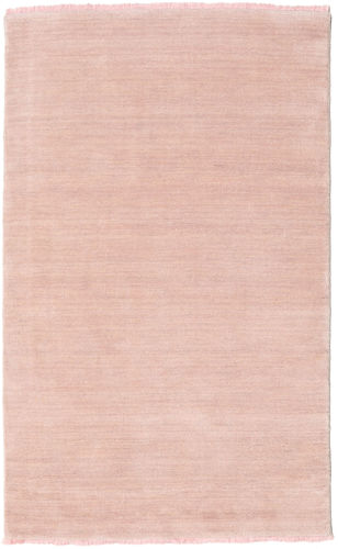 Handloom fringes - Soft Rose carpet CVD19155