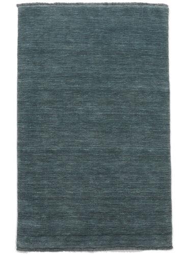 Handloom fringes - Deep Petrol carpet CVD19125