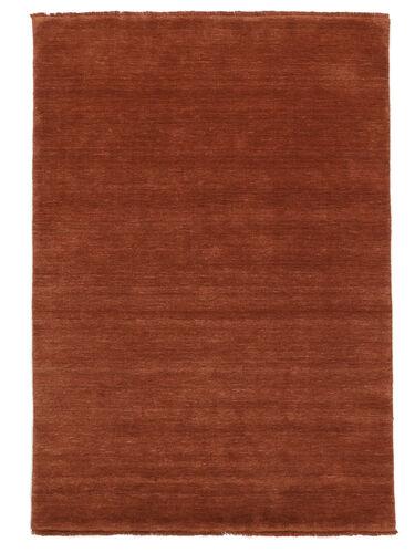 Handloom fringes - Deep Rust teppe CVD19111