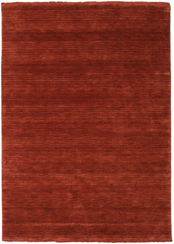 Handloom fringes - Deep Rust carpet CVD19110
