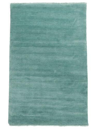 Handloom fringes - Aqua carpet CVD19160