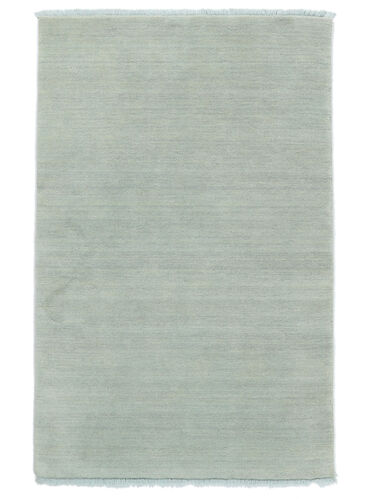 Handloom fringes - Ice Blue carpet CVD19119