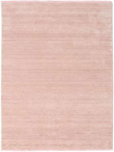 Handloom fringes - Rosenrosa matta CVD19153