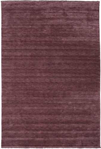 Handloom fringes - Deep Wine carpet CVD19136