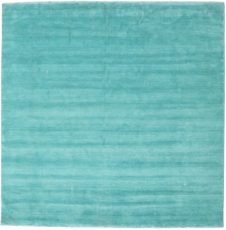 Handloom fringes - Aqua carpet CVD19159