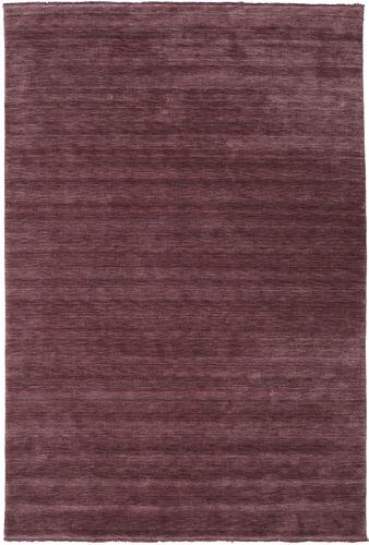 Handloom fringes - Vinröd matta CVD19289
