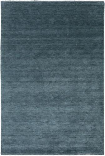 Handloom fringes - Deep Petrol carpet CVD19122
