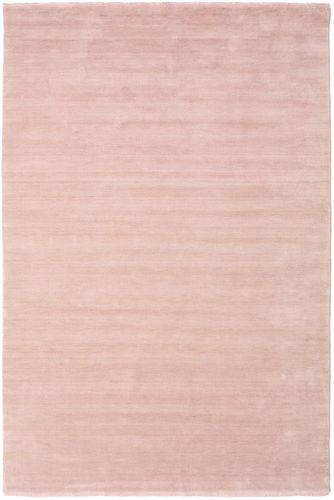 Handloom fringes - Soft Rose carpet CVD19291