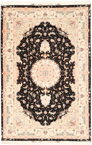 Tabriz#60 Raj silkesvarp matta MIK15