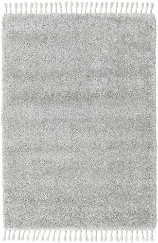 Boho - Sølvgrå teppe CVD20024