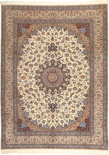 イスファハン 絹の縦糸 絨毯 AXVZZZY17
