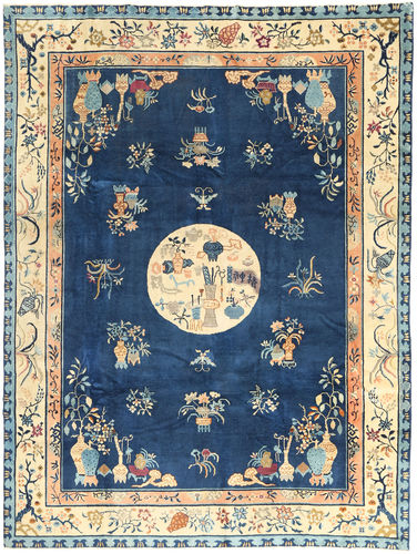 Chinese Antiek Art Deco 1920 tapijt AXVZZZY160