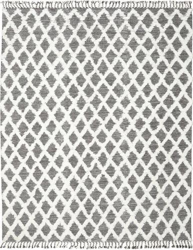 Inez - Schwarz / Weiß Teppich CVD20099