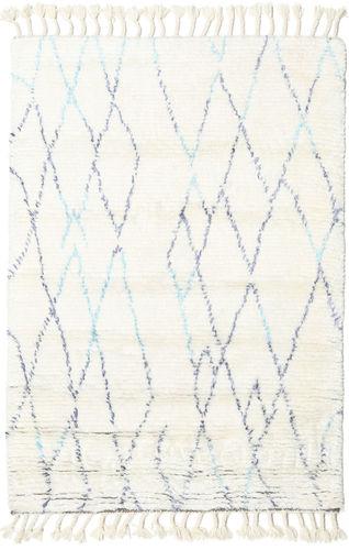 Rana - Natural / Blauw tapijt CVD20227