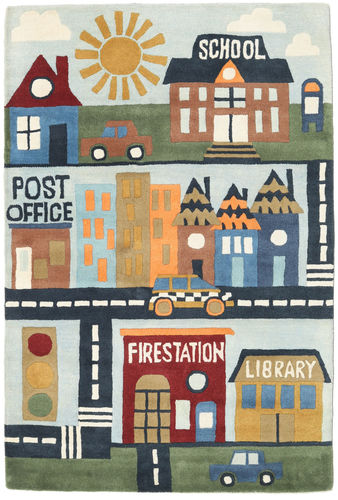 My Town Handtufted-matto SHEE44