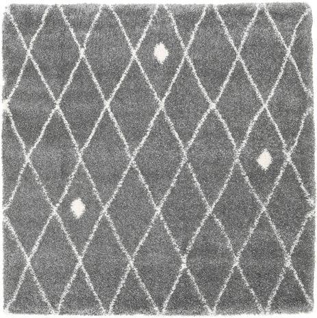 Shaggy Zanjan - Szürke / Off-White szőnyeg CVD21573