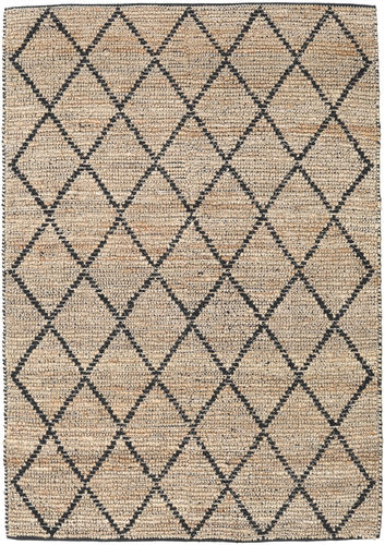 Serena Jute - Natural / Black rug CVD20274