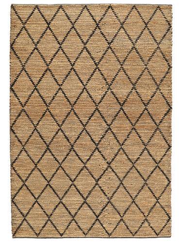 Serena Jute - Natural / Black carpet CVD20273