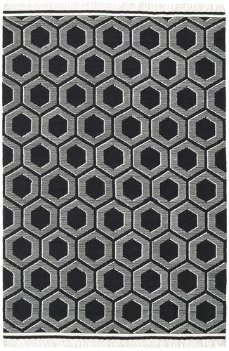 Opti - Zwart / Wit tapijt CVD20316