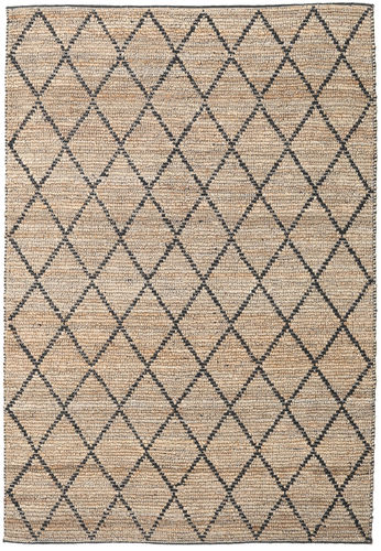 Serena Jute - Natural / Black carpet CVD20272