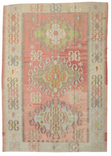 Tapis Kilim semi-antique Turquie RXZO344
