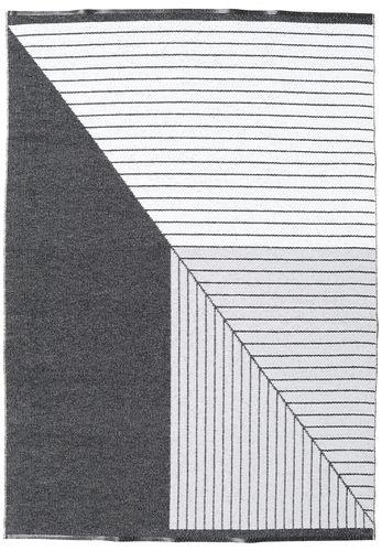 Diagonal - Black / Grey carpet CVD21671