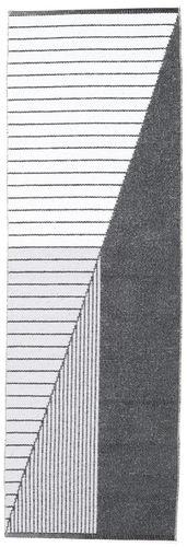 Diagonal - Sort / Grå tæppe CVD21672