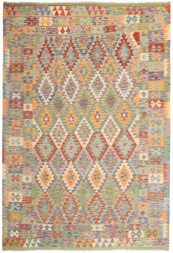 Kelim Afghan Old style tapijt MXK376