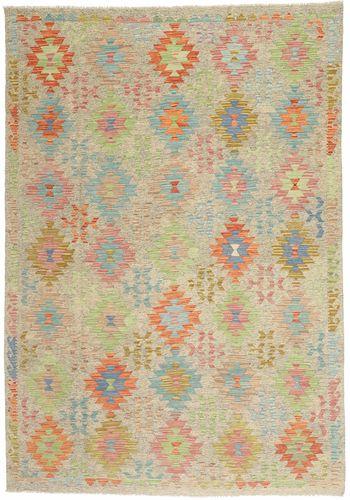 Kilim Afghan Old style carpet MXK362