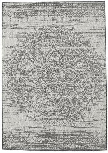 Covor Mandala - Gri închis / Bej RVD20620