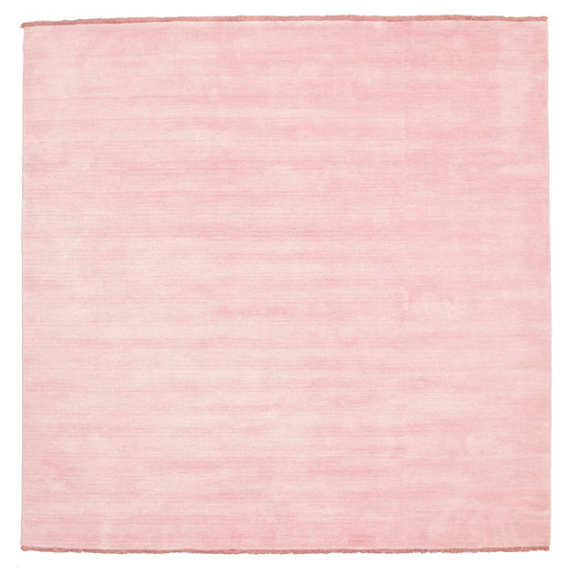 Handloom fringes  Rosa 200×200  CarpetVista