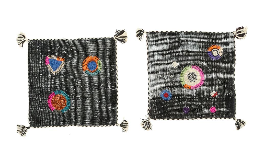 pillowcase vintage relief package of 2 50x50 carpetvista. Black Bedroom Furniture Sets. Home Design Ideas
