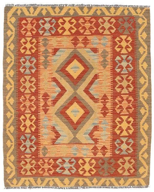 Kilim Afghan Old Style 94x115