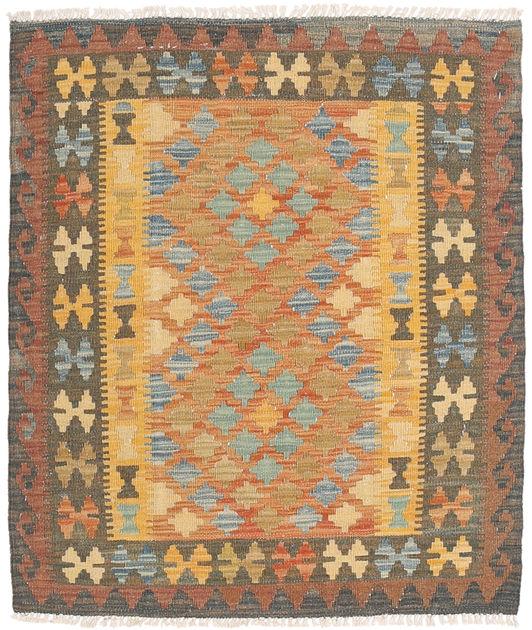 Kilim Afghan Old Style 89x102